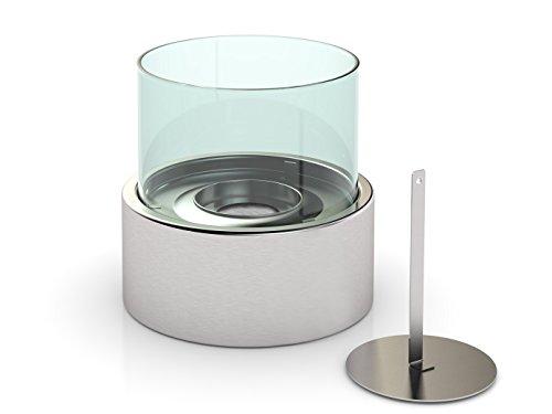 Luxus--Chimenea-de-mesa-bioetanolchimenea-Cristal-aprox-16-cm-1L-4-x-Aceite-Aromtico-mesa-Fuego-para-sobre-la-atmsfera