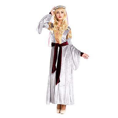 Göttin Königin Kostüm - FGDJTYYJ Cosplay Kostüme Party Kostüme Königin Göttin Cosplay Fest/Feiertage Halloween Kostüme Vintage Kleider Taillengürtel Kopfbedeckungen