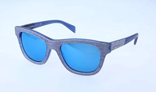 Diesel Unisex-Erwachsene DL0111 92X-52-18-140 Sonnenbrille, Blau, 52