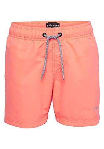 Chiemsee Badehose für Jungen Neon Orange, 134/140