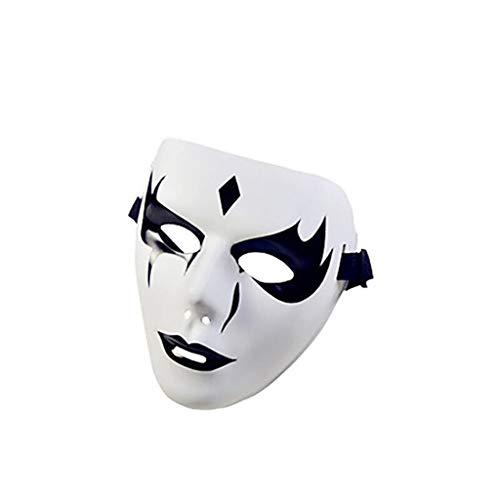 ZSMPY Maske Halloween Maske Held True Color Party Maske Spiel Lustige Partyzubehör (Für Lustige Halloween-spiele Partys Erwachsene Für)