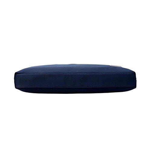 Gabriera, Herren Schultertasche, Quadrato-blu (blau) - Wlwl-021-swb-01 Quadrato-nero