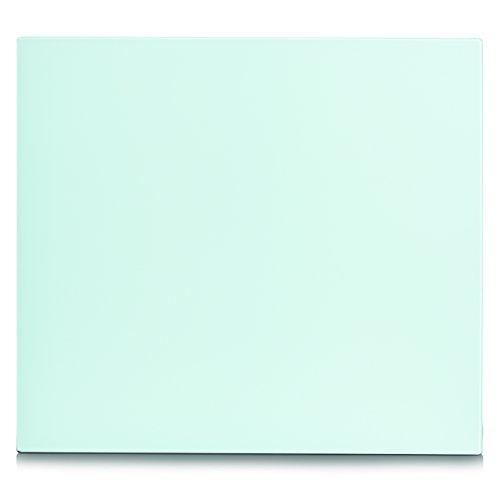 Zeller 26282 Herdblende-/Abdeckplatte, Glas, weiß