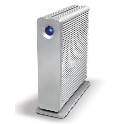 Lacie d2 Quadra v3 5TB USB-B 3.0 eSATA 2xFireWire 800 silber