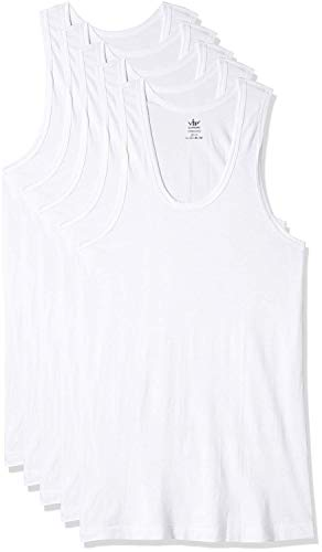 VIP Supreme Men's Sleeveless Cotton Vest (White, 105)