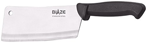 Blaze 7-Inch Blade Premium Stainless-Steel Chopper-Cleaver-Butcher Knife - Multipurpose Use for Home Kitchen or Restaurant by MaxxGallery