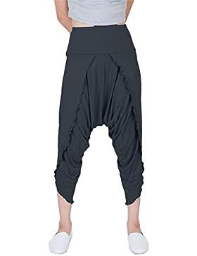 Lofbaz Pantalones mujer Yoga y Pilates Harem Hybrid Capri Long Por ideal para Ejercicios y Baile