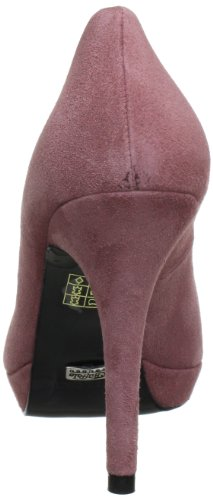 Buffalo London 9669-177 BL SUEDE Damen Plateau Pumps Pink (LANZAROTE 01)