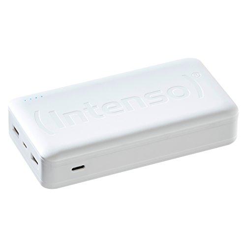 Ladegerät Laptop Externes (Intenso Powerbank HC20000 externes Ladegerät (20000mAh, geeignet für Smartphone/Tablet PC/Notebook/MP3 Player/Digitalkamera) weiß)