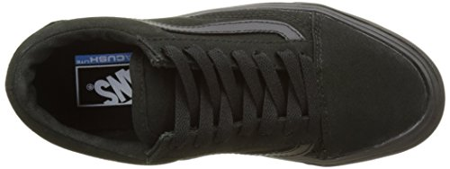 Vans Unisex-Erwachsene Ua Old Skool Lite Sneakers, (Canvas) Black/Black Schwarz (Canvas Black/black)