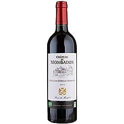 Château Monbadon Bordeaux AOP Castillon Bio Vin Rouge 2014 75 cl
