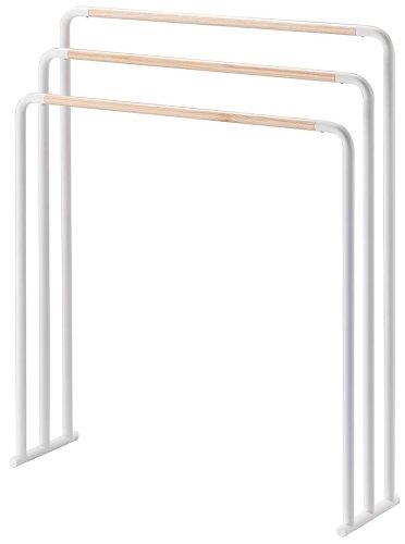 PLAIN bain porte-serviettes de couleur blanche (japon importation)