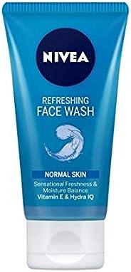 NIVEA Women Refreshing Face Wash, with Vitamin E, 150 ml
