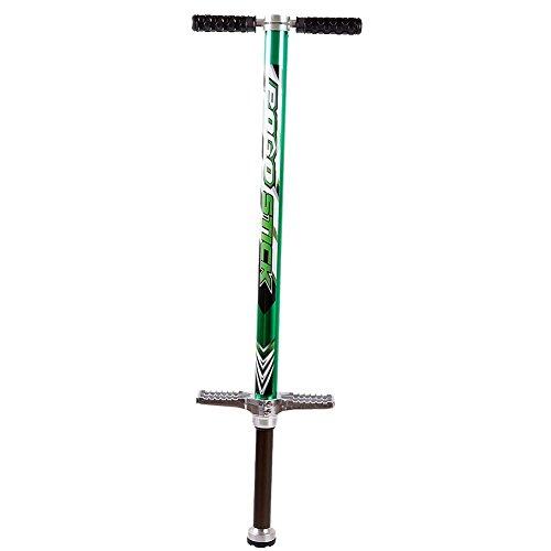 FunTomia Pogo Stick Hüpf Stange Sprungstange Jumper Stockhüpfen / 15-40kg, 35-80kg, 50-90kg oder 60-110kg Körpergewicht (35-80kg Benutzergewicht)