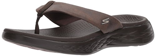 Skechers Women's on-The-Go 600-Polished Flip-Flop, Parent, US