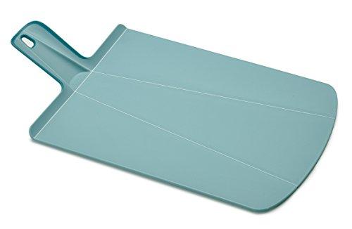Joseph Joseph 60103 Schneidebrett faltbar und rutschfest, klein, kunststoff, 38 x 21 x 1,5 cm, hellblau