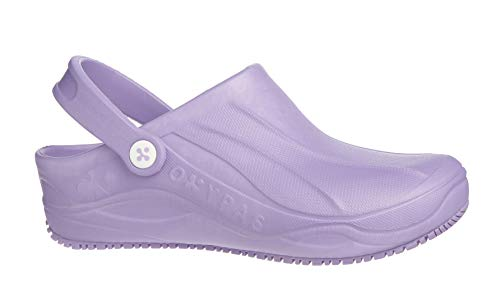 Oxypas Smooth, Women's Safety Shoes, White (Lic), 8 UK (42 EU)