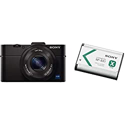 Sony - Pack DSC-RX100M2 + Batterie Rechargeable