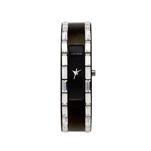 Karen Millen Twilight Crystal K099 - Reloj de vestir para mujer