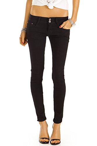 Bestyledberlin Damen Jeans, Basic Röhrenjeans, Klassische Slim Fit Hose, enge Hüftjeans j38f 42/XL