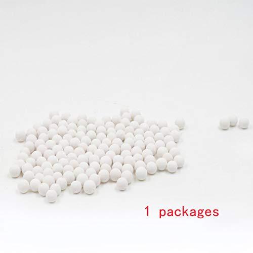 Sfere minerali per soffione doccia filtro acqua purificante utile energia sfere di ricambio universale ceramica bianco
