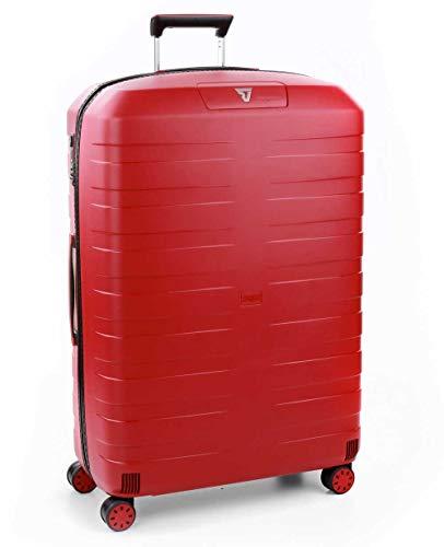 Roncato Trolley Grande 4r Exp. Box 4.0 Valigia, 80 cm, 130 liters, Rosso (Rojo)