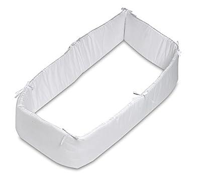 Pirulos 43100001 - Protector de cuna, color blanco