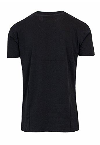 Boy London Uomo T-Shirt Jersey con Stampa BL1029 Nero