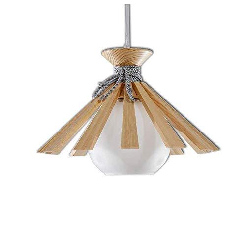40 Watt Max Bulb (Lightmodern Creative Hanging Style Pendant Light White Glass Ceiling Pendant Light 1 Bulb Living Room Lighting Light Bulb E27 Socket, Max. 40 W ☆)