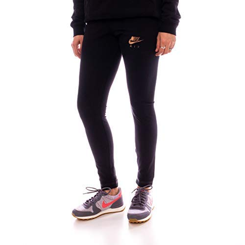 NIKE Damen Hose 930577-010 Woven Cuffed Tights, Schwarz, XL Nike Jersey Capri