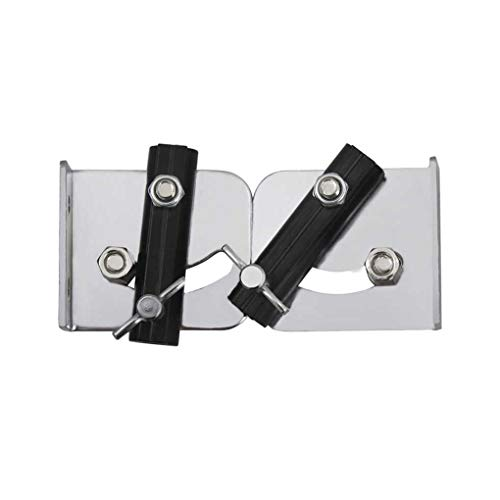 Bobury 2PCS Bass Drum Mounting Adapter Drum Strap Bracket Holder Support Mounting Adapter Metal Instruments Accessories