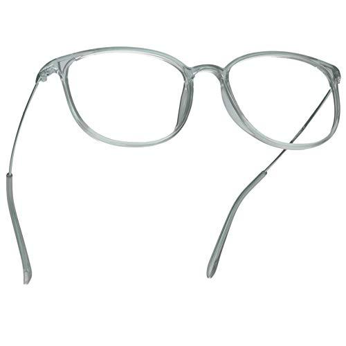 333722d3eb LifeArt Blue Light Blocking Glasses,Computer Reading Glasses,Transparent  Lens,Reduce Headaches&Eyestrain,