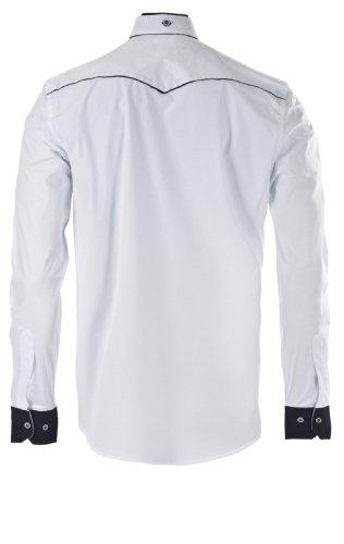 Carisma Herren Herren Hemd Weiß