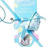 Pet Brands Me to You Catnip Teaser Heart Cat Toy