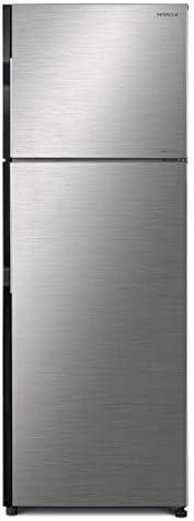Hitachi 450 L Top Mount Refrigerator, Brilliant Silver/ RV450PUK8KBSL