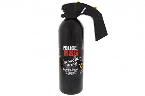 """RSG - POLICE \"""" Foam \"""" Schaum Pfefferspray 750 ml"""