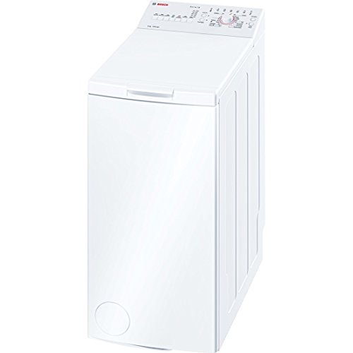 Bosch Serie 2 WOR20156IT Freestanding Top-load 6kg 1000RPM A++ White washing machine - washing machines (Freestanding, Top-load, White, Buttons, Rotary, Up, 1.5 m)