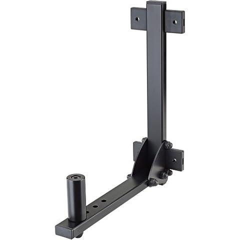 K&M 24140 Boxenwandhalterung Belastung bis 35 kg schwarz (Pro Pa Lautsprecher)