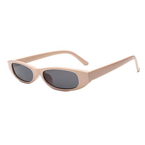 Junecat Frauen Kleine rechteckige Tiny Platz Sonnenbrillen Fahren Angeln Outdoor-Sun-Glas-Ultra-Light UV400 Brillen