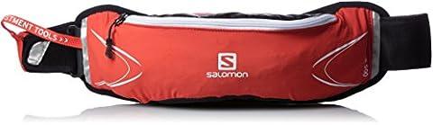 Salomon gear Agile Ceinture Porte-Bidon Mixte Adulte, Rouge Foncé, Taille Unique