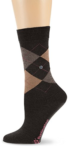 Burlington Damen Socken Marylebone, Gr. 36/41, Braun (Darkbrown 5234)