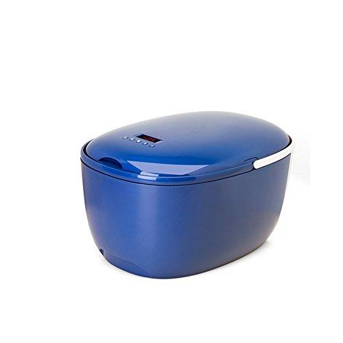 L&Z Elektrische Kühlbox Mit Kühl- Und Warmhaltefunktion, 12 Liter, 230V/12V DC, LED-Anzeige, [Energieeffizienzklasse A++],Blue - 12l Led
