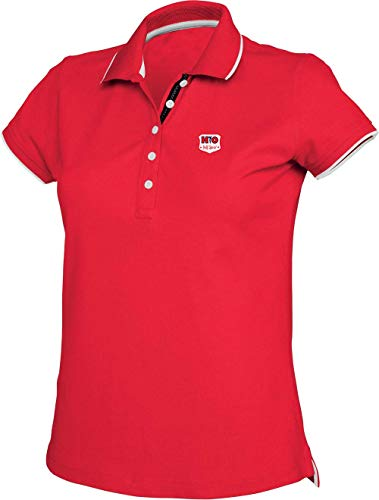 HIO HOLE IN ONE Via Print Polo Golf Femme Sandy 220gm² Rouge Taille XL