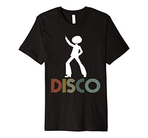 Shirt für 70er Jahre Disco Dancer Geschenk ()