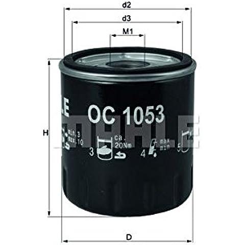 KNECHT OC 1053 Filtro olio