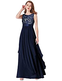 bb6a517c7a904 Ever Pretty Elegant Sleeveless Round Neck Evening Party Dress 08217