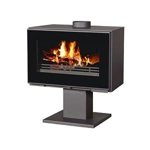 Estufa de leña chimenea de 14kW moderno Log quemador chimenea bajo las emisiones