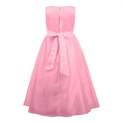 Imagen de katara  la niña de las flores, vestido de noche para niños de 4 5 años, color rosa alternativa