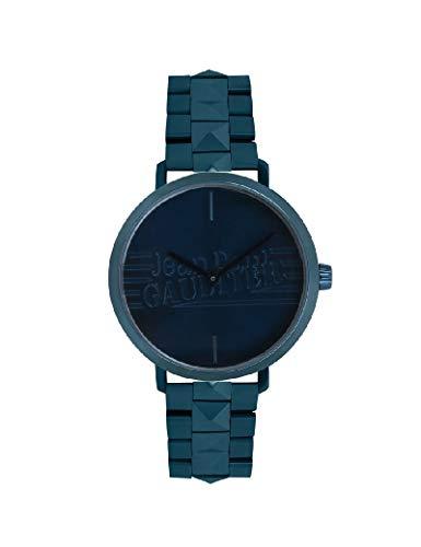 Jean-Paul Gaultier - Reloj de Pulsera para Mujer, Color Azul