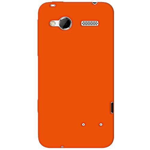 Amzer Silikonhülle für HTC Radar Orange Htc-htc Radar